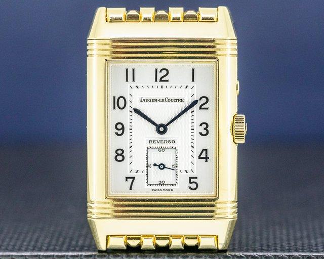 Jaeger LeCoultre Q270154 Reverso Duoface Yellow Gold / Bracelet