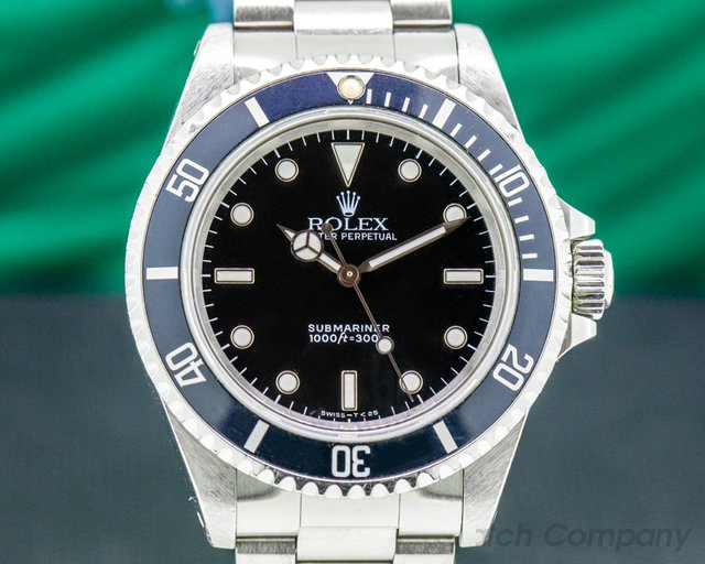 Rolex 14060 Submariner 14060 No Date SS