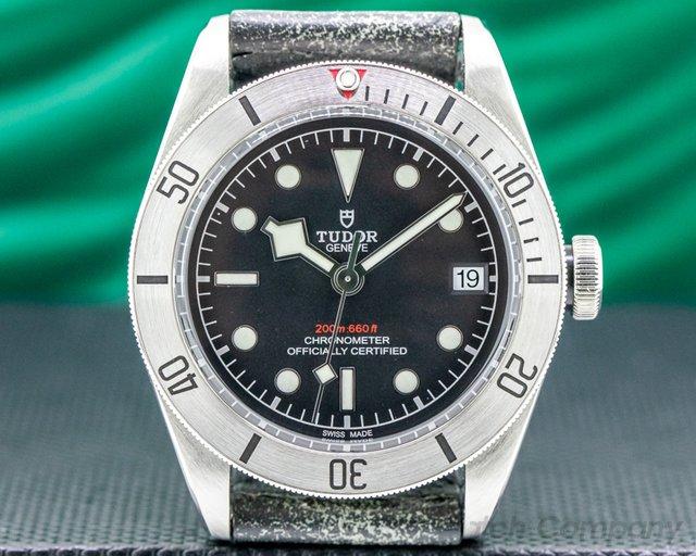 Tudor 79730 Tudor Heritage Black Bay 41 BLACK SS / Aged Leather