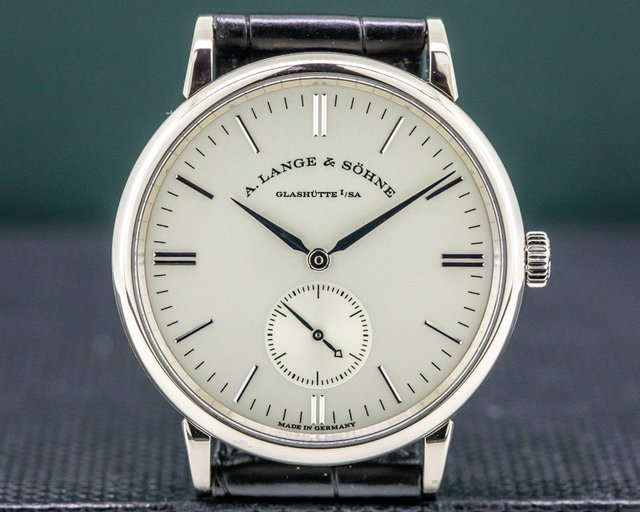 A. Lange and Sohne 219.026 Saxonia 219.026 Manual Wind 18K White Gold