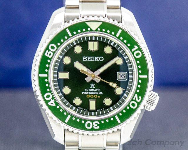 Seiko SLA019 Prospex Diver 300M Green Ceramic Limited Edition
