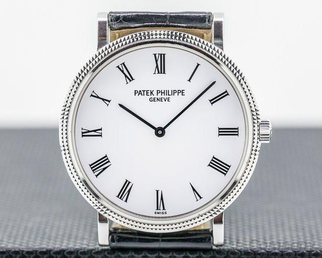 Patek Philippe 5120G-001 Calatrava Automatic 5120G 18K White Gold
