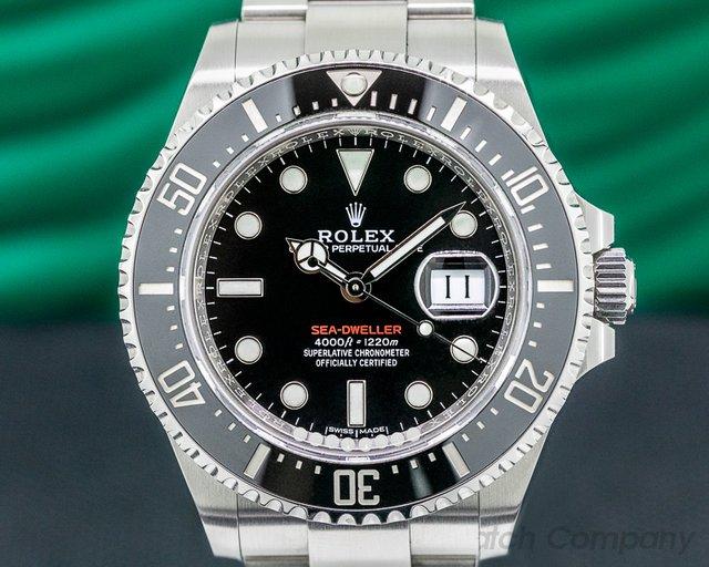 Rolex 126600 Sea Dweller 126600 RED 43MM SS