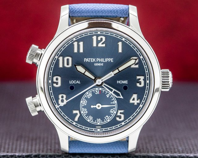 "Patek Philippe 7234A-001 Singapore Mid Size 7234A Calatrava Pilot Travel Time ""Singapore"" Limited"