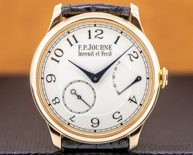 F. P. Journe Chronometre Souverain 38 Chronometre Souverain Red Gold / Silver Dial 38MM