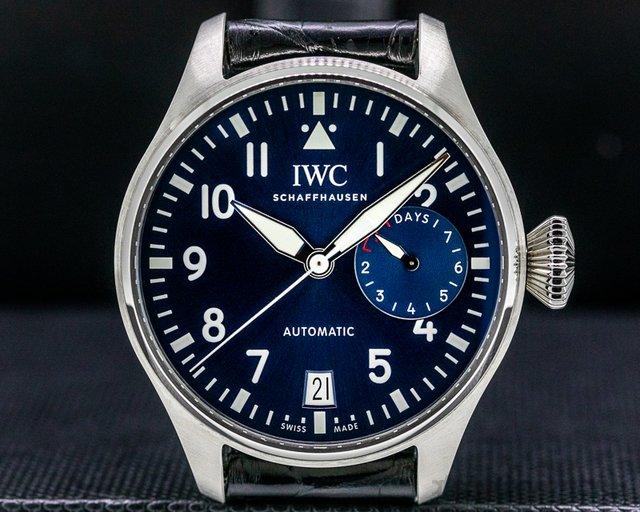 """IWC IW500916 Big Pilot """"LE PETIT PRINCE"""" Blue Dial"""