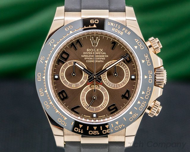 Rolex 116515LN Cosmograph Daytona 116515LN 18K Rose Gold / Chocolate Dial 2019