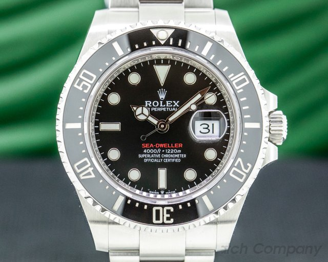 Rolex 126600 Sea Dweller 126600 RED 43MM SS