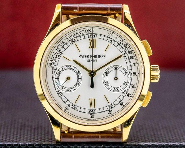 Patek Philippe 5170J-001 Chronograph 18K Yellow Gold Pulsation Dial UNWORN