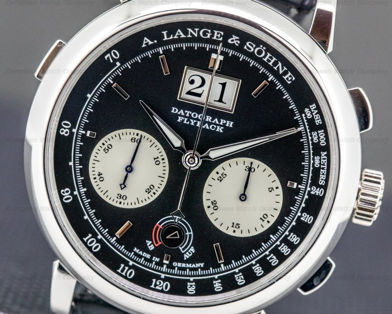 A. Lange and Sohne 405.035 Datograph 405.035 Up / Down Platinum