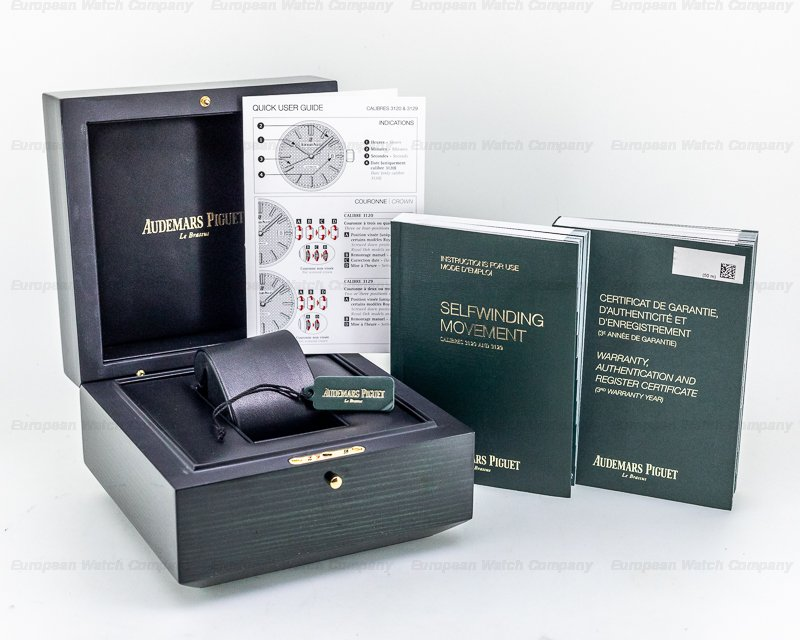 Audemars Piguet 15400ST.OO.1220ST.01 Royal Oak Black Dial SS / SS
