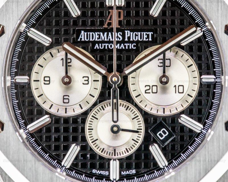 Audemars Piguet 26331ST.OO.1220ST.02 Royal Oak Chronograph Black Dial SS 41MM