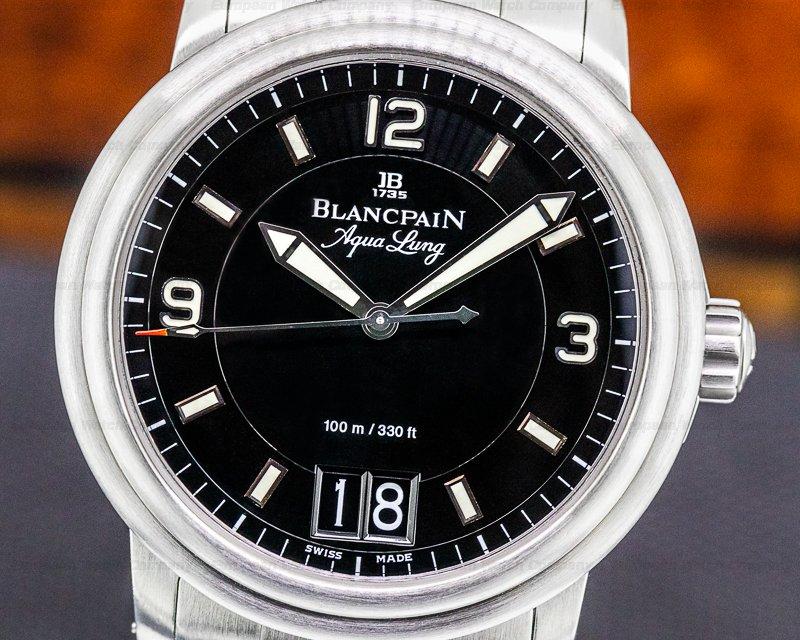 Blancpain 2850B-1130A-71 Aqualung Big Date 2850B SS / SS FULL SET