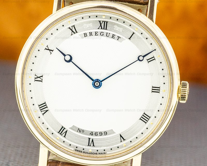 Breguet 5157BA/11/9V6 Classique Automatic Ultra Thin 18K Yellow Gold