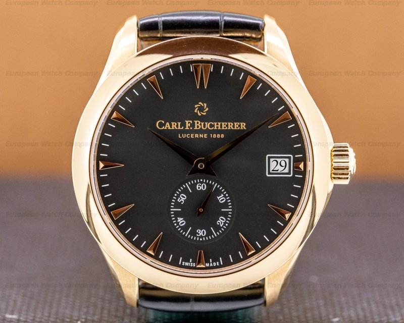 Carl. F Bucherer 00.10917.03.33.01 Manero Peripheral 18k Rose Gold