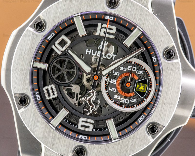 Hublot 402.NX.0123.WR Ferrari Big Bang Unico Titanium LIMITED