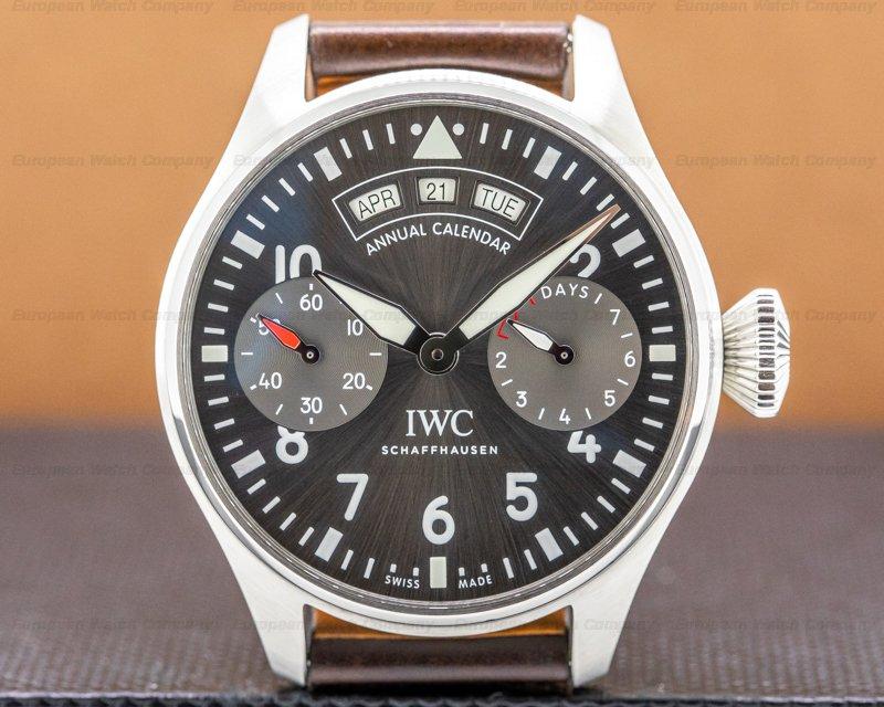 IWC IW502702 Big Pilot Annual Calendar Spitfire SS / Grey Dial