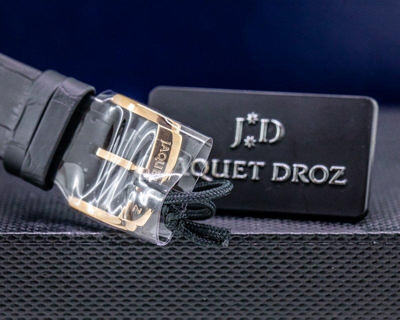 Jaquet Droz J012613200 Eclipse Ivory Enamel Dial Moon Rose Gold UNWORN