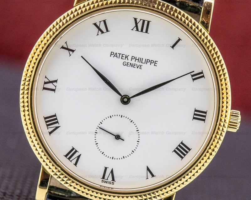 Patek Philippe 3919J Calatrava 18K Yellow Gold