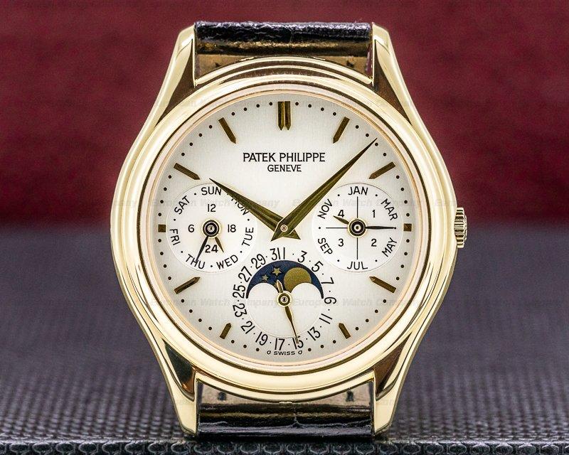Patek Philippe 3940J-014 Perpetual Calendar 3940J 18K Yellow Gold FULL SET