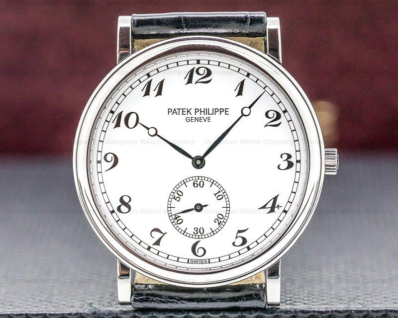 Patek Philippe 5022P Calatrava 5022 Platinum RARE