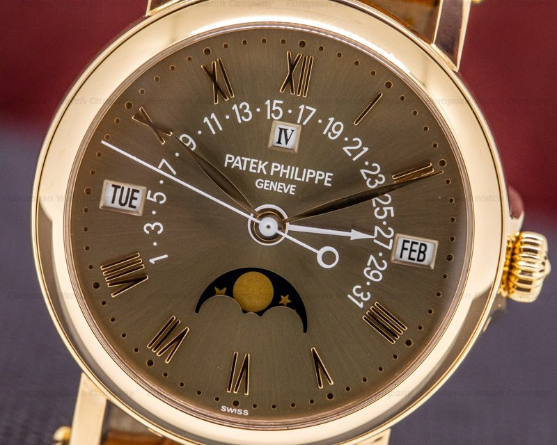 Patek Philippe 5059R-017 LONDON Retrograde Perpetual 18K Rose Brown Dial LONDON SAATCHI EDITION