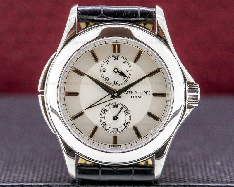 Patek Philippe 5134P-001 Travel Time Manual Silver Dial Platinum