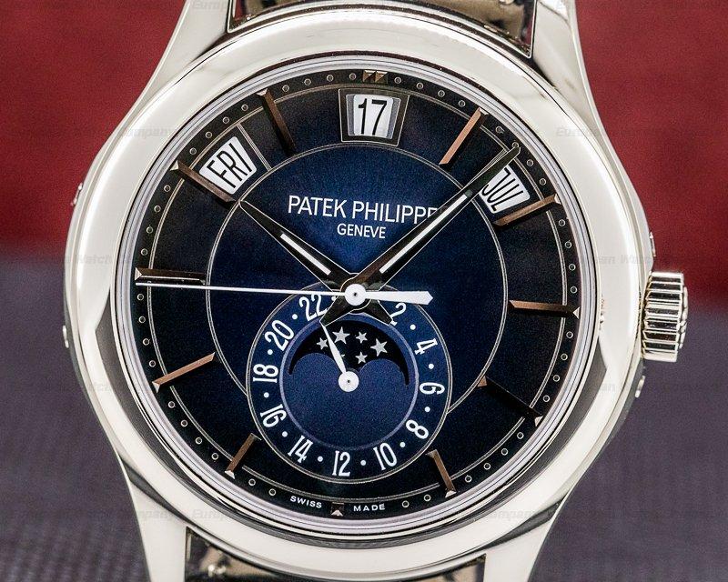 Patek Philippe 5205G-013 Annual Calendar Blue Dial 18K White Gold 2020