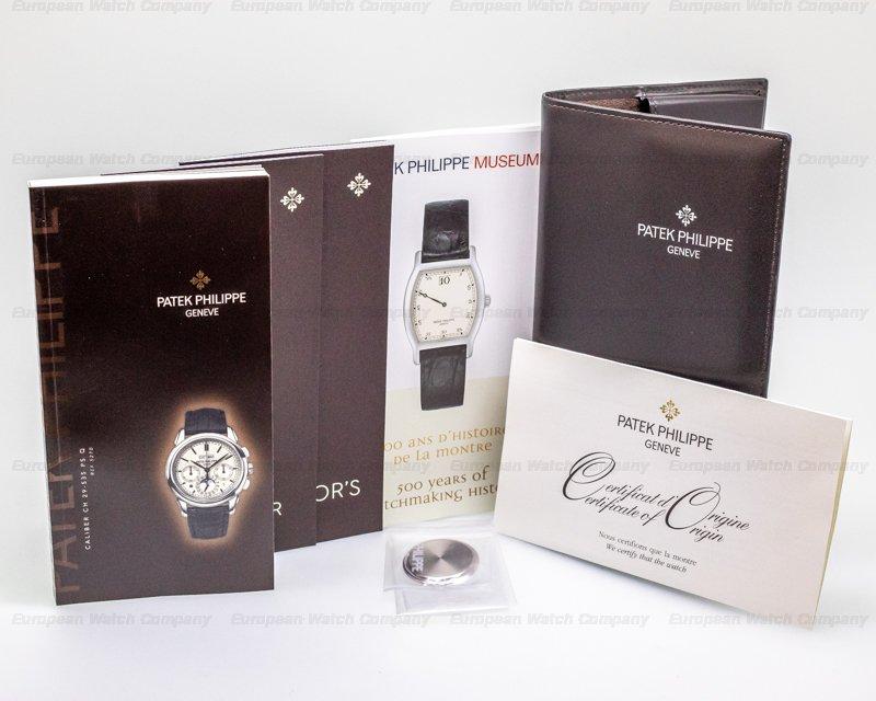 "Patek Philippe 5270G-013 Perpetual Calendar Chronograph 18K White Gold White Dial ""CHIN"""