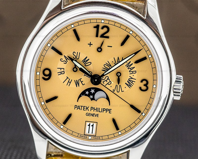 Patek Philippe 5450P-001 Advanced Research 5450P Platinum Salmon Dial Limited FULL SET