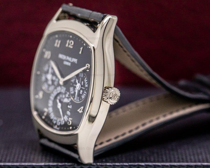 Patek Philippe 5940G-010 Perpetual Calendar 18K White Gold Black Dial