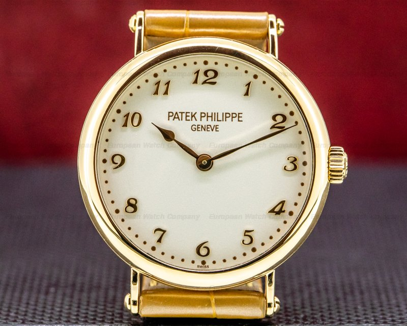 Patek Philippe Ladies Calatrava 7200R 18K Rose Gold Ref. 7200R-001