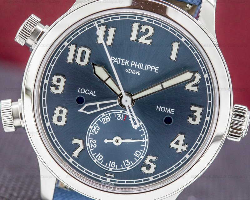 "Patek Philippe 7234A-001 Singapore Mid Size 7234A Calatrava Pilot Travel Time ""Singapore"" Limited UNWORN"