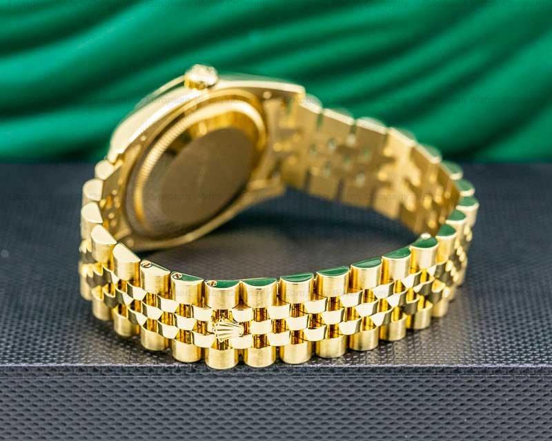 Rolex 116238 Datejust 36 18K Yellow Gold Jubilee / Black Stick Dial