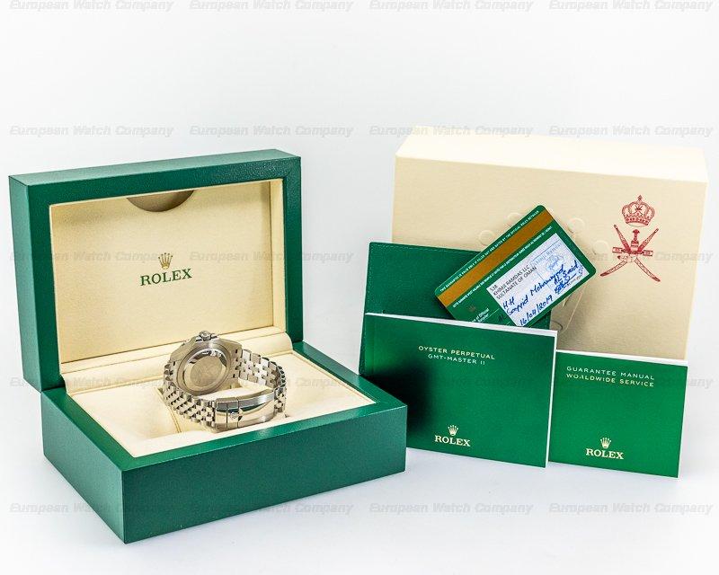 "Rolex 126710 OMAN KHANJAR GMT Master II 126710 Ceramic ""Pepsi"" SS / OMAN KHANJAR RARE"