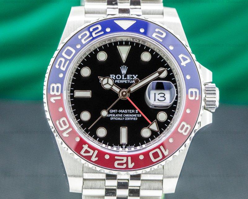 "Rolex 126710BLRO GMT Master II Ceramic 126710 ""Pepsi"" SS / Jubilee 2019"