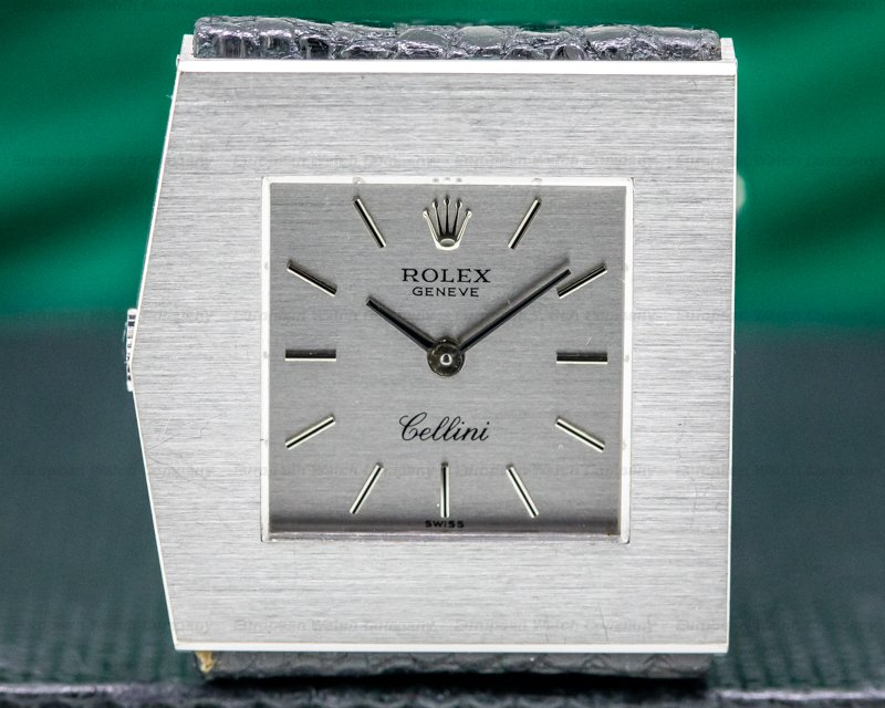 "Rolex 4017 Cellini ""King Midas"" Manual Wind White Gold TOP CONDITION"