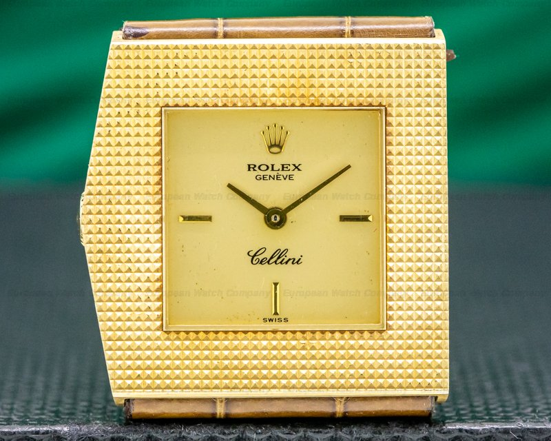 "Rolex 4126 Cellini ""King Midas"" Manual Wind Yellow Gold"