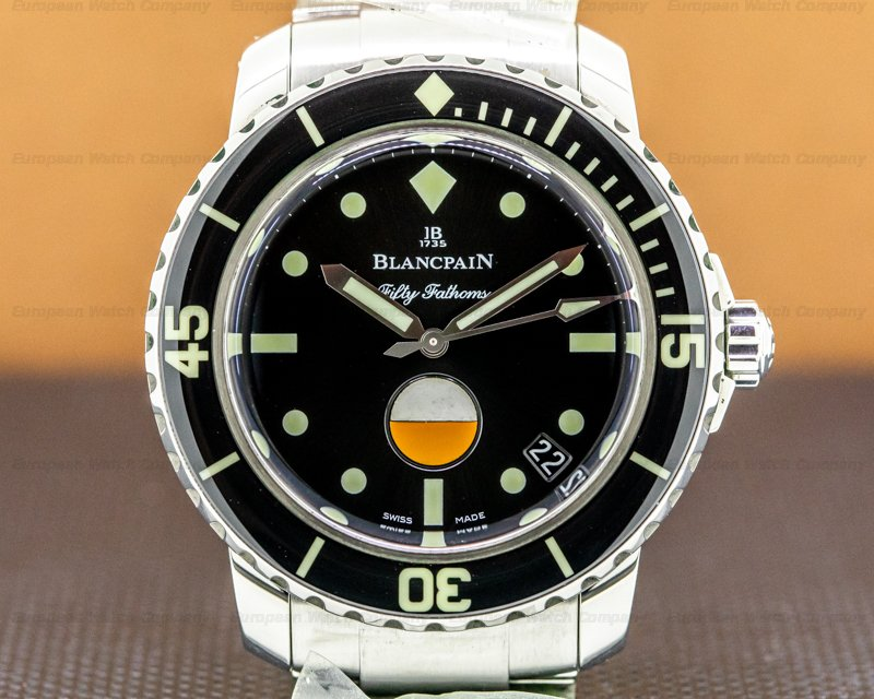 Blancpain Tribute to Fifty Fathoms MilSpec SS BRACELET Ref. 5008-1130-B52A