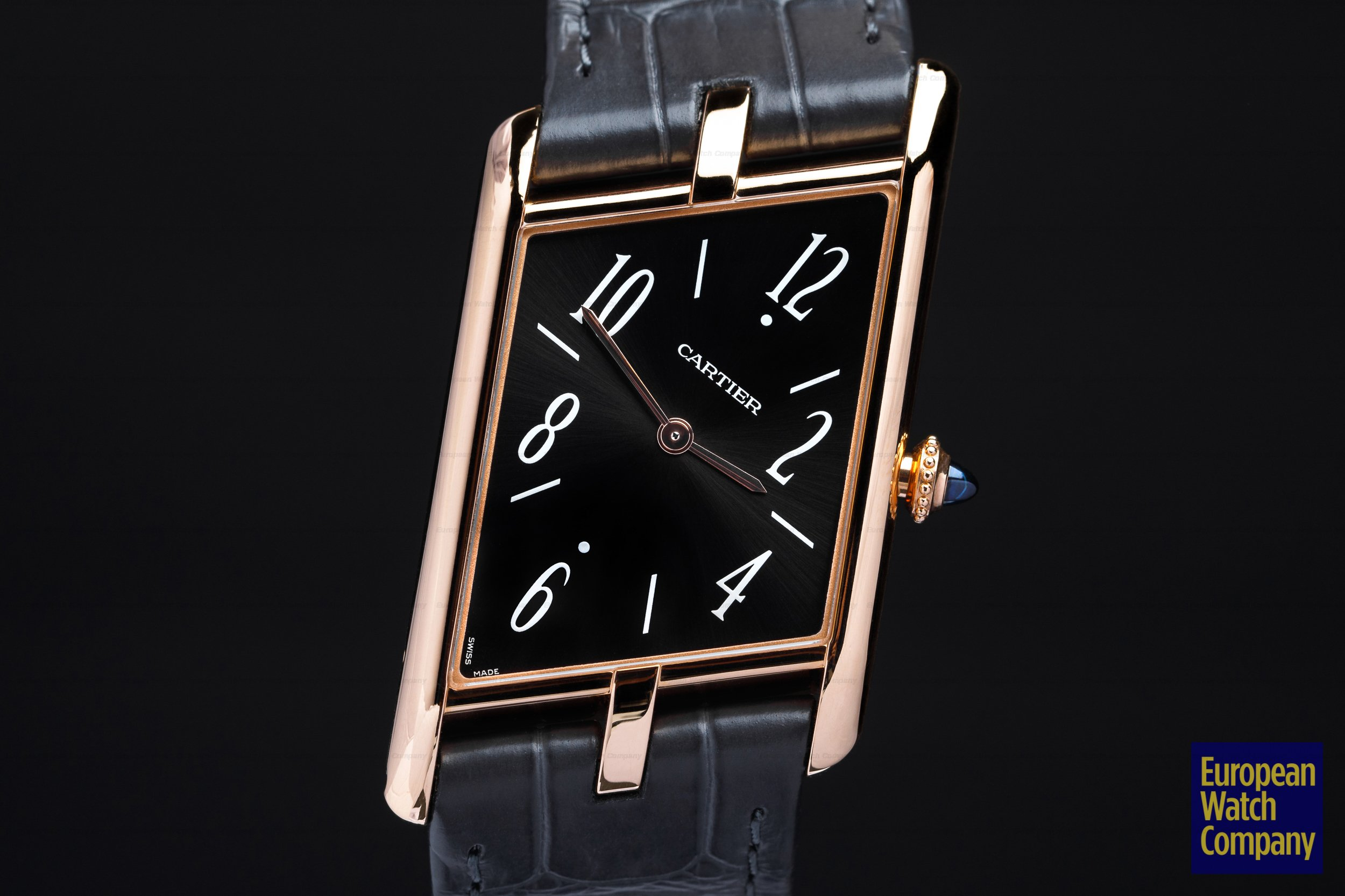 Cartier Privee Collection Tank Asymetrique WGTA0043 18k Rose Gold UNWORN Ref. WGTA0043