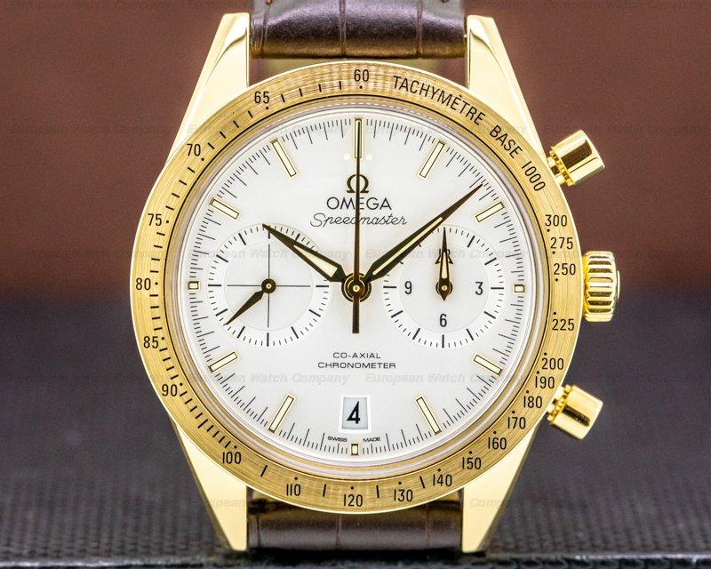 Omega Speedmaster 57 Co-Axial 18k White Dial Ref. 331.53.42.51.02.001
