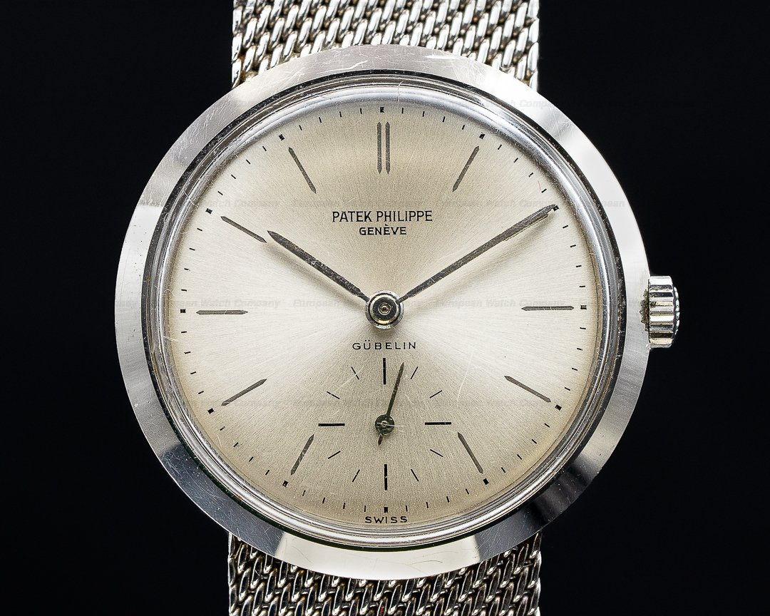 Patek Philippe 3418 Steel Calatrava GUBELIN Convertible VERY SHARP Ref. 3418