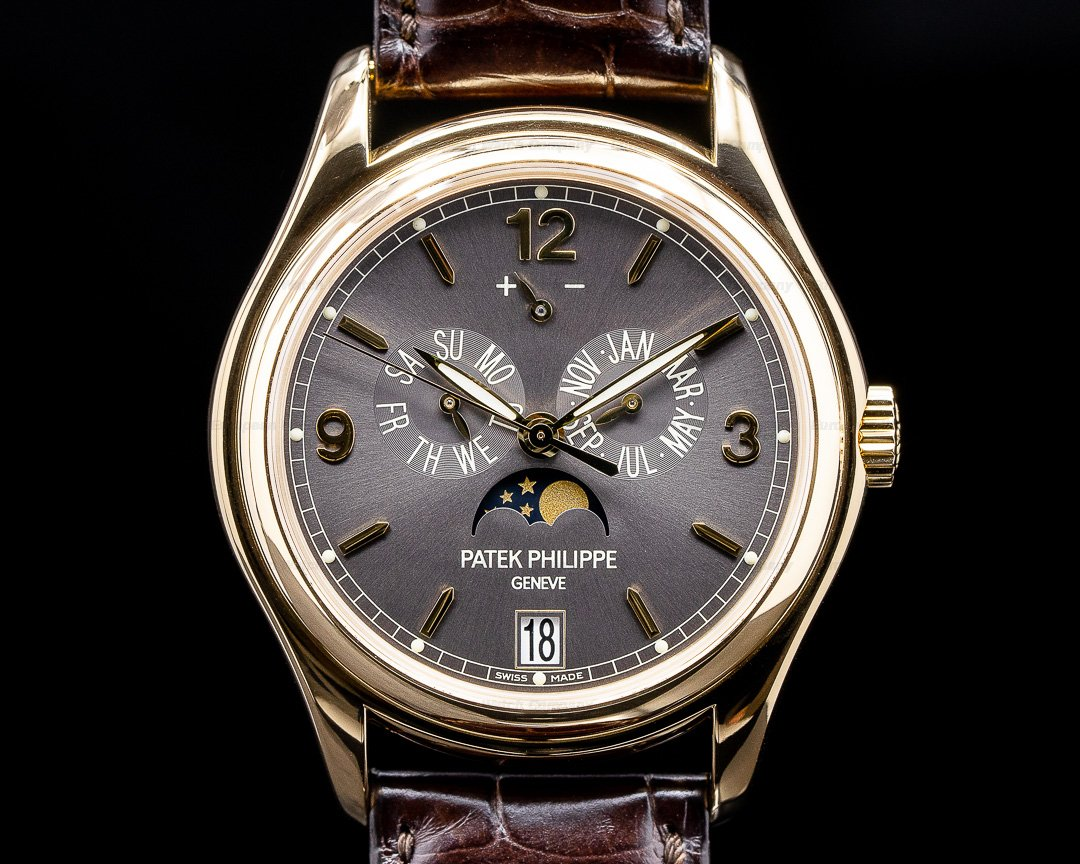 Patek Philippe Annual Calendar 5146J Grey Dial 18K Yellow Gold Ref. 5146J-010