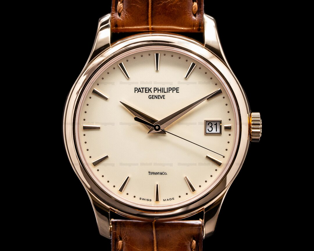 Patek Philippe Calatrava 5227R TIFFANY Automatic 18K Rose Gold 2019 Ref. 5227R TIFFANY