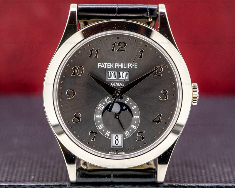 Patek Philippe Annual Calendar Anthracite Dial 18K White Gold 2020 UNWORN Ref. 5396G-014