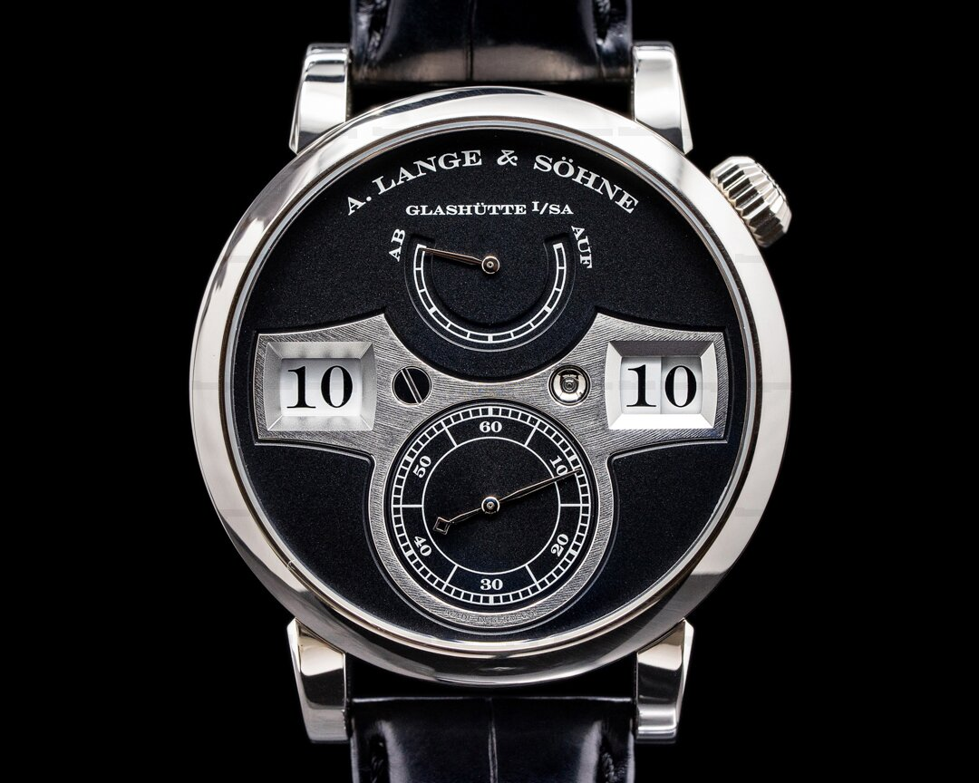 A. Lange and Sohne Zeitwerk 140.029 18K White Gold FULL SET Ref. 140.029