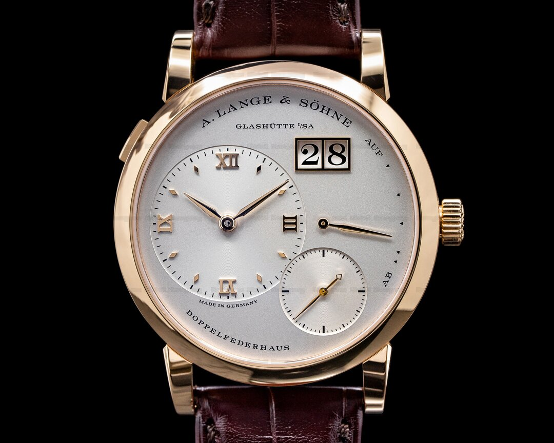 A. Lange and Sohne Lange 1 191.032 18K Rose Gold / Deployant NEW MOVEMENT Ref. 191.032