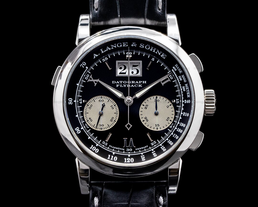 A. Lange and Sohne Datograph Flyback 403.035 Platinum 39MM Ref. 403.035