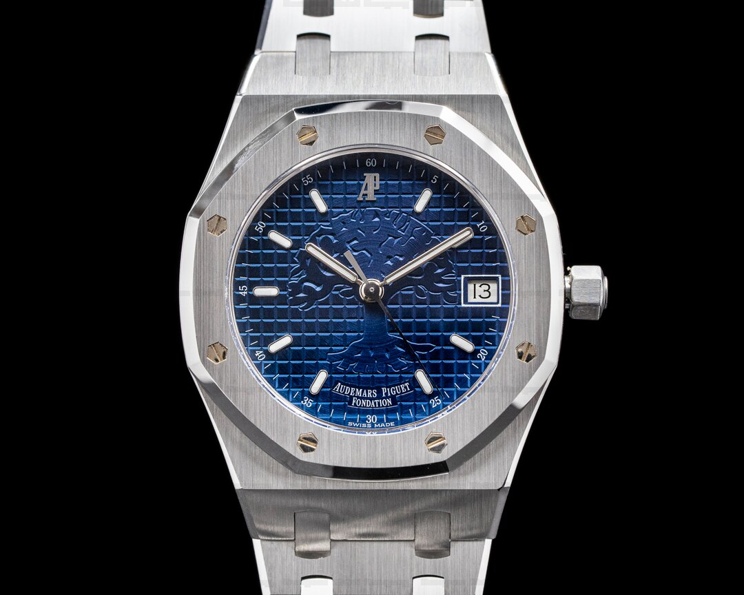 Audemars Piguet Royal Oak 15100ST Foundation Time for the Trees L.E. SHARP Ref. 15100ST.OO.0789ST.01
