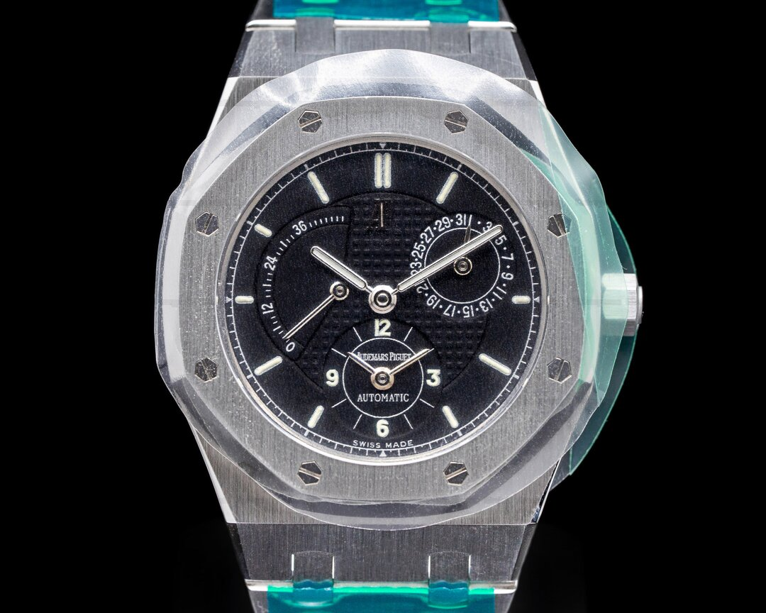 Audemars Piguet Royal Oak Dual Time 25730ST Black Dial Ref. 25730ST.OO.0789ST.01.A